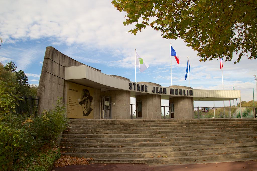 Entrée du stade Jean Moulin