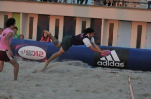 Beach rugby 2012 : Suresnes Vice-Champion de France