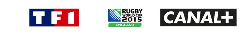 assister aux émissions de TF1 et Canal+ autour de la Coupe du Monde de Rugby 2015