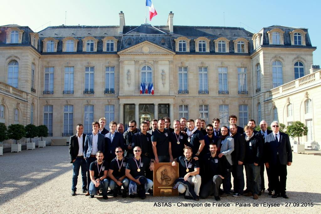 l'Astas, champion de France 2015 Corporate