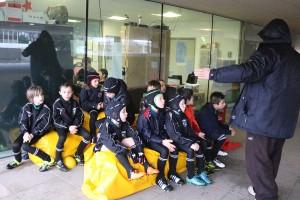 Mini-Poussins équipe 1 : plateau à Courbevoie