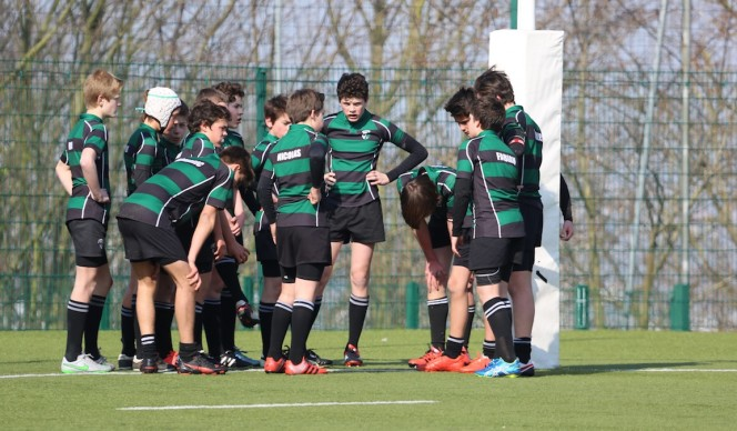 Minimes Equipe 1 : Match amical Suresnes - Racing Plessis