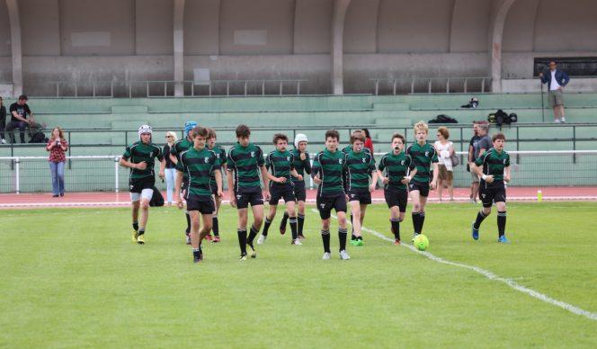 Minimes Equipe 1 : quarts de finale Championnat 2015-2016