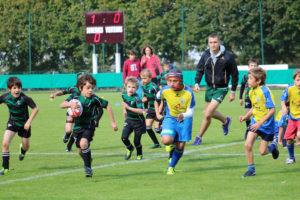 Poussins équipe 2: Rencontres CD92 à Suresnes