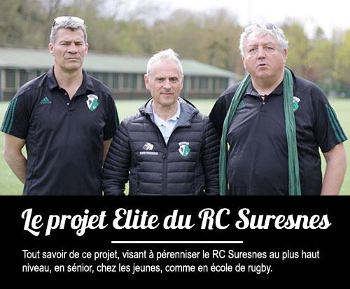 Tous les détails du projet Elite du RC Suresnes Hauts-de-Seine