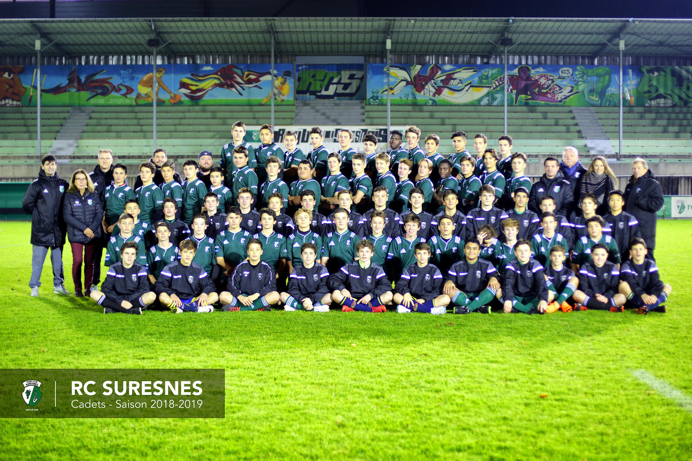 Cadets saison 2018-2019 / Gaudermen & Teulière A