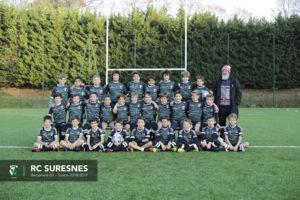 Groupe 1 – Benjamins (M12) du RC Suresnes – Saison 2018/2019