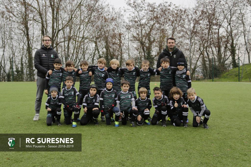 Catégorie Mini-Poussins (M8) du RC Suresnes - Saison 2018/2019