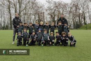 Catégorie Mini-Poussins (M8) du RC Suresnes – Saison 2018/2019