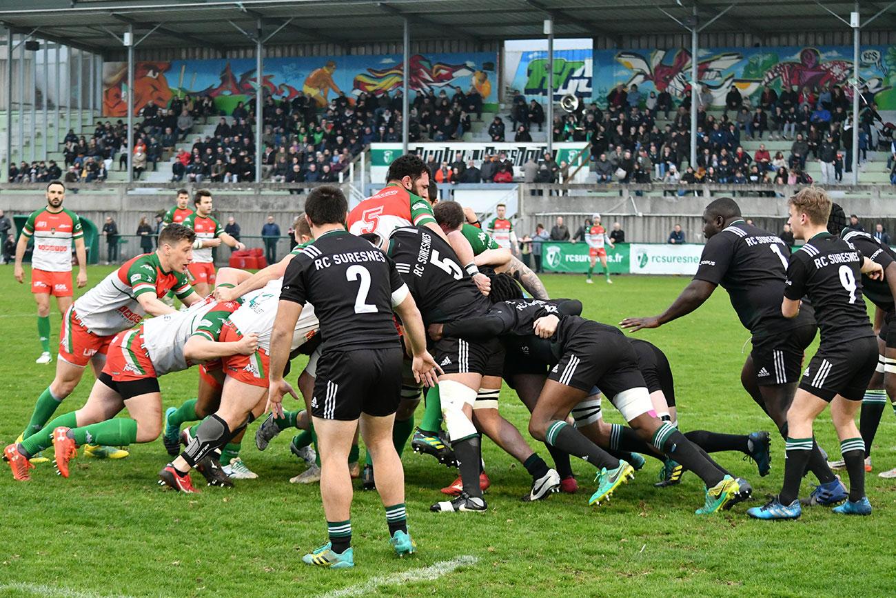 Fédérale 1 : résumé et photos de Suresnes / Nantes