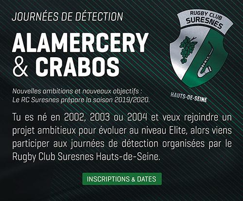 Journées de détection Alamercery & Crabos